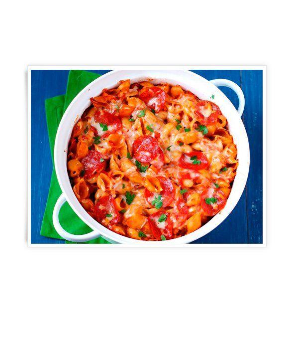 Pepperoni Pasta Bake | Recipes | Pinterest