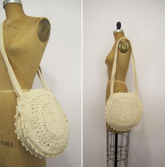 Vintage Crochet Bag : vintage crochet bag~~ GORGEOUS! must recreate!