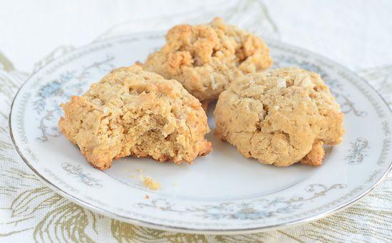 Oatmeal Peanut Butter Coconut Cookies | FOOD : COOKIES | Pinterest