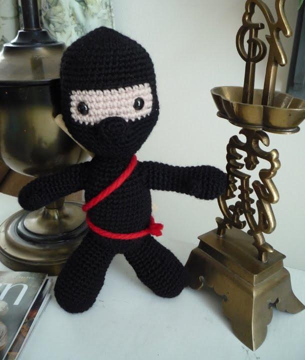 Ninja Amigurumi Free Pattern : Ninja - free crochet pattern Crazed Crochet Pinterest