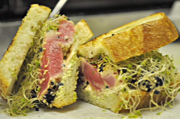 Ahi Tuna Sandwich | SANDWICHES AND PASTA DELIGHTS | Pinterest