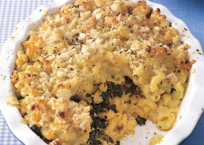 Double-Dutch Mac and Cheese with Chard - Bon Appétit