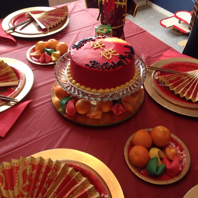 Chinese New Year themed birthday party | PARTY !!!
