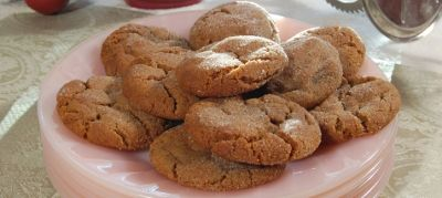 Black pepper cookies - takse like soft gingersnaps