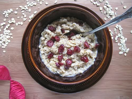 Coconut milk oatmeal! Good way to use left over coconut milk from our ...
