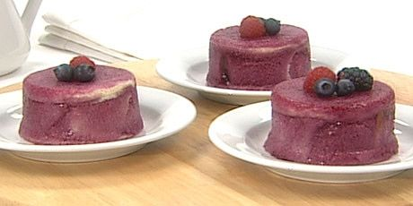 Anna Olson's Summer Berry Pudding | Rice Pudding, Custard, Clafoutis ...