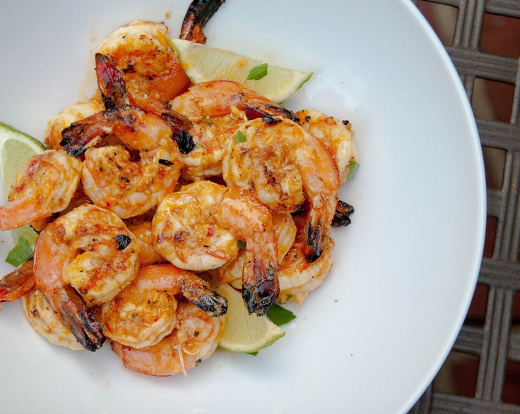 Spicy Grilled Jalapeno and Lime Shrimp   recipes   Pinterest