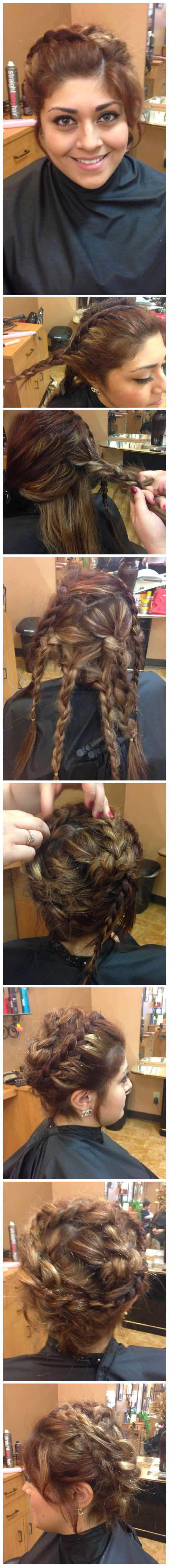 Rebecca_Pfeifer   #GOT #GameofThrones #festivalhair #hairtutorial #coachellahair #sexyhair #howto #DYI #Tutorial #Concerthair
