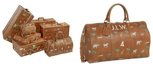 beautiful louis vuitton luggage - the darjeeling limited