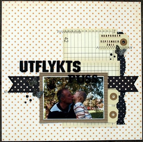 Ulrika Blomfelt scrapbook pages
