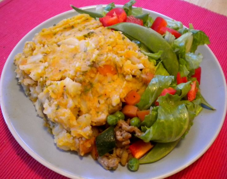 Lightened-Up Sweet Potato Shepherds Pie | Recipes - savory | Pinterest