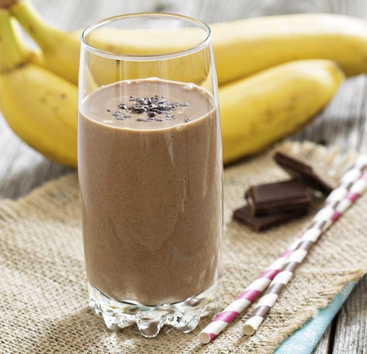 Chocolate-Banana Smoothie recommend
