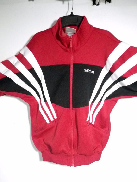vintage adidas 80s mens jacket size small. Black Bedroom Furniture Sets. Home Design Ideas