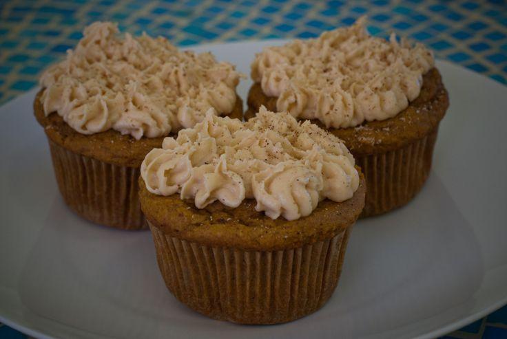 pumpkin spice cupcakes--gluten free | Cupcakes Yumm! | Pinterest