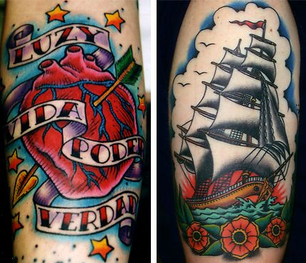 Oliver Peck American Traditional Tattoo Oliver Peck(er)   Trad...