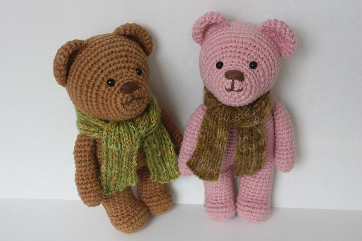 Free Easy Crochet Teddy Bear Patterns : PATTERN- Amigurumi Crochet Teddy Bear Pdf Tutorial ...
