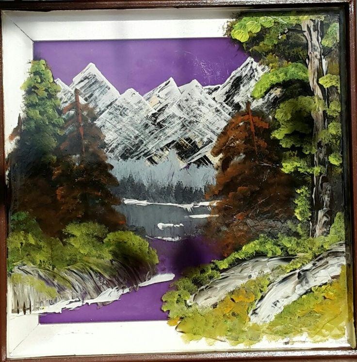 7 besten Acryl Epoxidharz 3D Bob Ross Bilder auf Pinterest | Acryl ...
