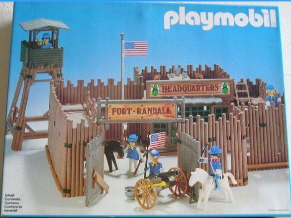 fort randall playmobil old toys pinterest. Black Bedroom Furniture Sets. Home Design Ideas