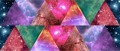 nebula triangle tumblr pics about space
