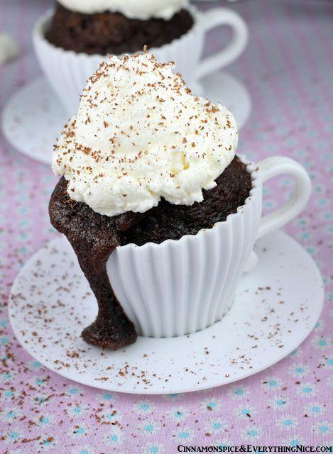 Hot Cocoa Cupcakes | Recipe