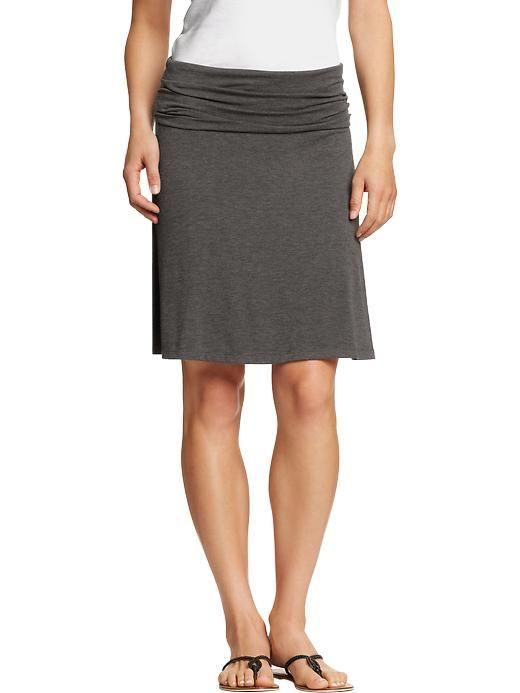 womens fold jersey skirts my style