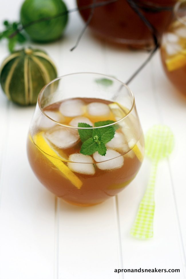 ... - Cooking & Traveling in Italy: Simple Lemon & Lime Tea with Mint