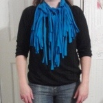 Another type of tshirt scarf