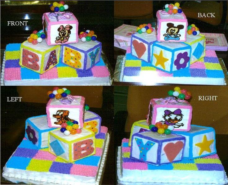 disney baby cakes disney baby shower
