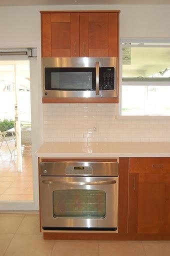 microwave cabinet kitchen ideas