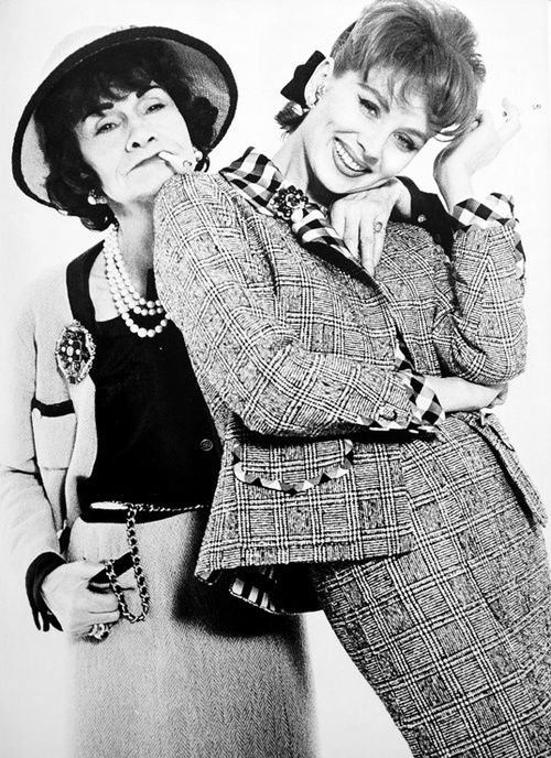 Coco Chanel and Suzy Parker, 1962, Photo by Richard Avedon
