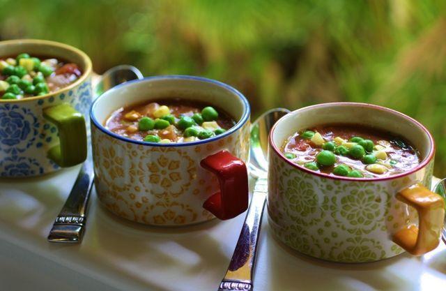 Easy Vegetable Soup Recipe | Soup! | Pinterest