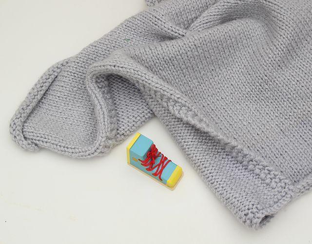 Chunky Baby Blanket Knitting Pattern : Knit Chunky Baby Blanket with shoe Knitting Pinterest