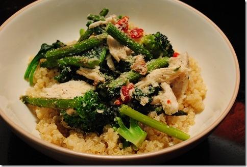 Roasted Chicken & Vegetable Quinoa | Chicken Recipes | Pinterest
