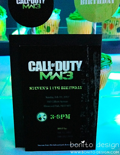 Call of Duty Birthday Party