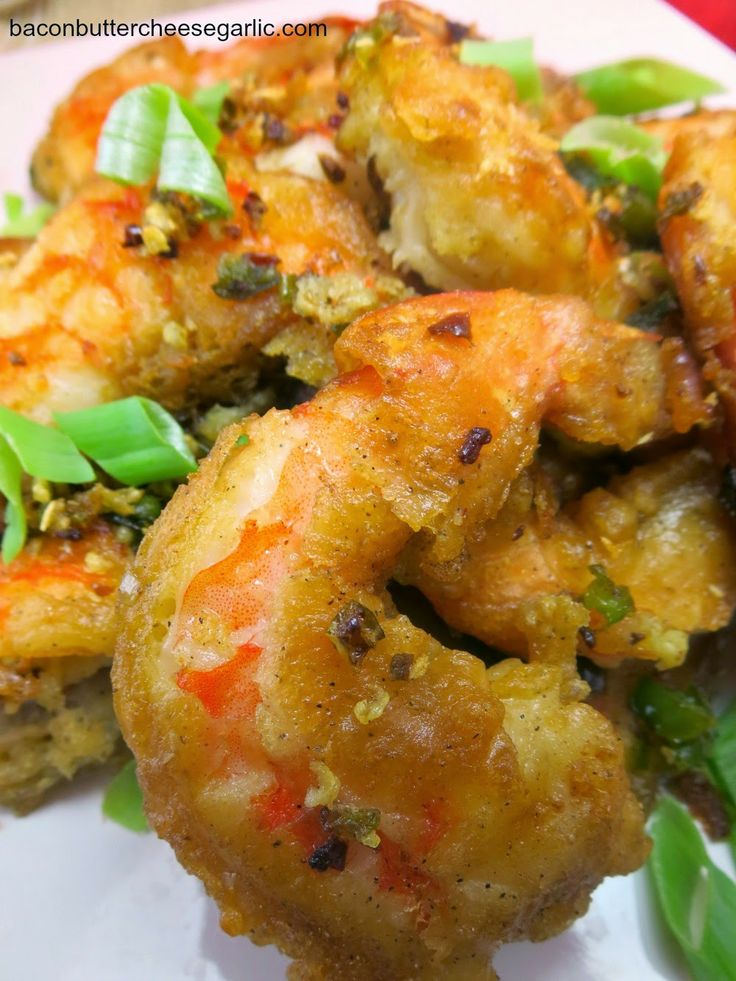 shrimp that is highlighted by the simple seasonings of salt and pepper ...