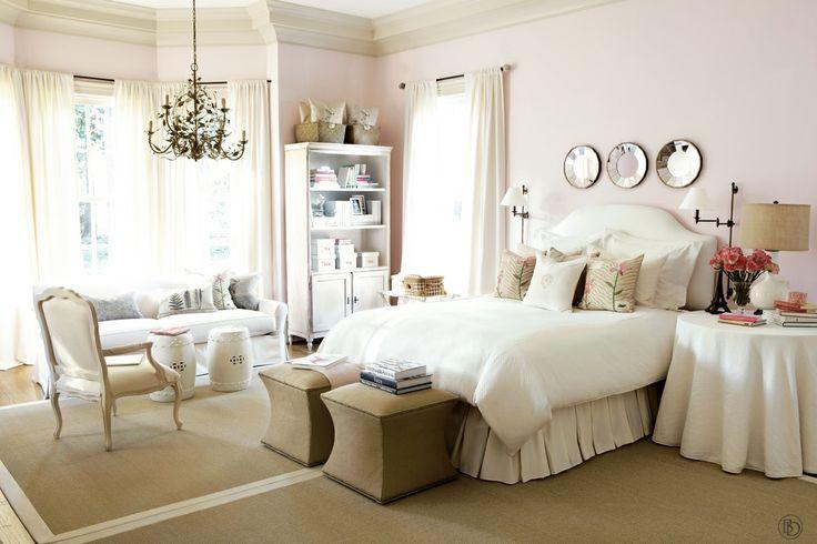 light pink feminine bedroom my dream cottage home pinterest