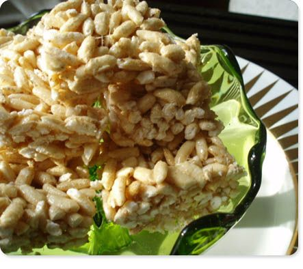 Caramelized Brown Butter Rice Krispie Treats Recipe — Dishmaps