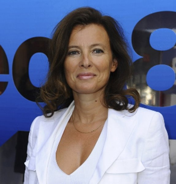 Valerie Trierweiler,compagne de Francois Hollande.