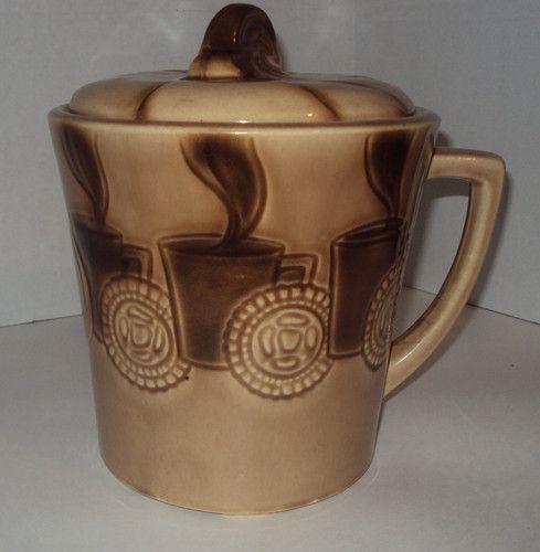 Coffee Cup Cookie Jar by McCoy