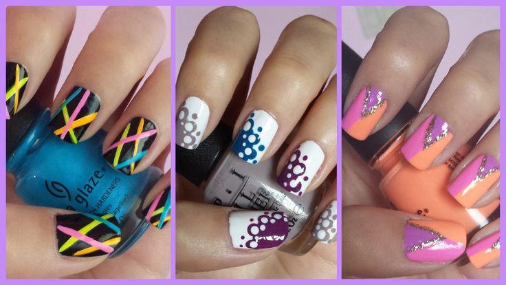 Easy nail art for beginners 11 nail art pinterest