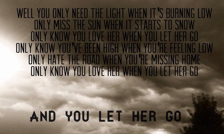 i let her go go song pdf