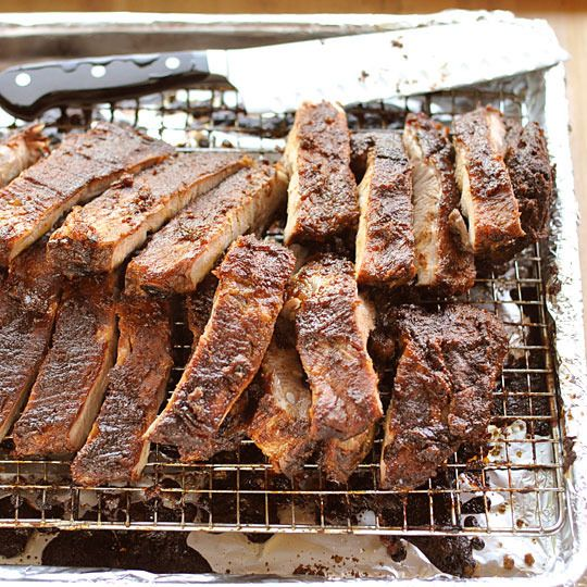Ribs in the oven