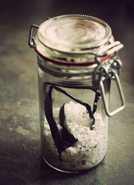Vanilla Salt | Foodie Love: Condiments & Canning | Pinterest