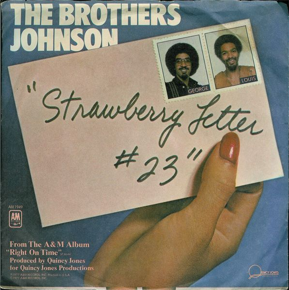 ... johnson strawberry letter 23 | brothers_johnson_strawberry_letter_23