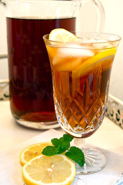 Southern Sweet Tea from @Lana Stuart   Never Enough Thyme http://www ...
