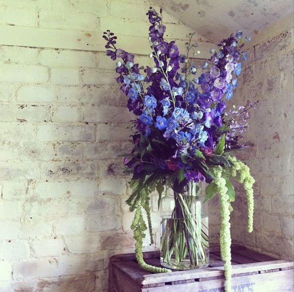 delphinium arrangement flower arrangements pinterest