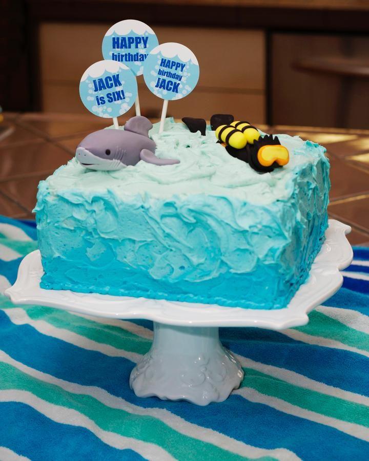 Shark Cake Decorating Cake Ideas and Designs