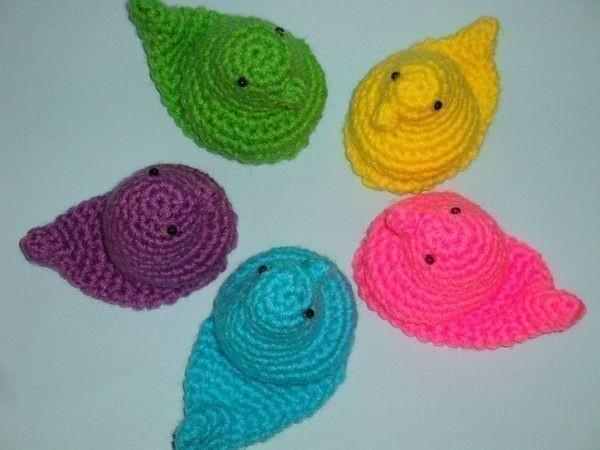 crochet peeps! lovely crochet inspiration Pinterest