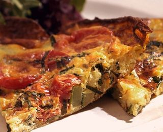 Zucchini Frittata | Recipes to Try | Pinterest