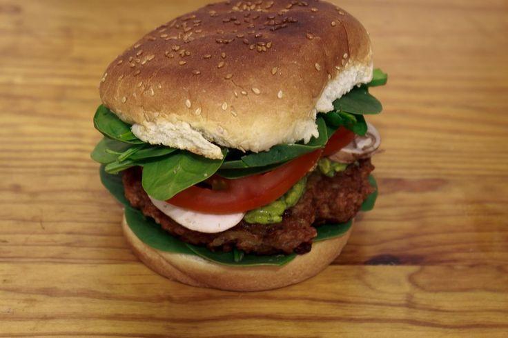 Homemade Veggie Burgers - Imgur | Aysha | Pinterest
